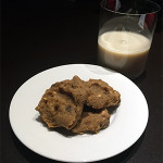 Cashewy Chickpea Cookies