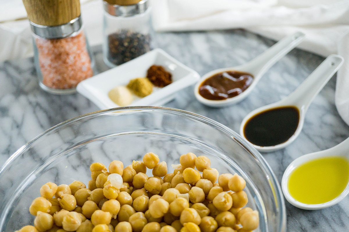 Smokin' Roasted Chickpeas