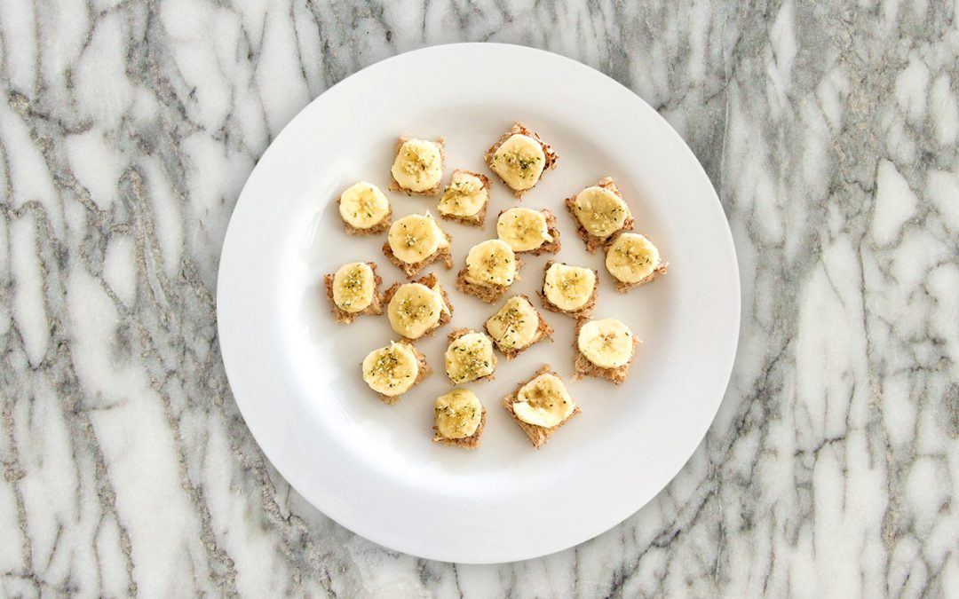 Tahini Banana Toast | Ellevate Your Plate