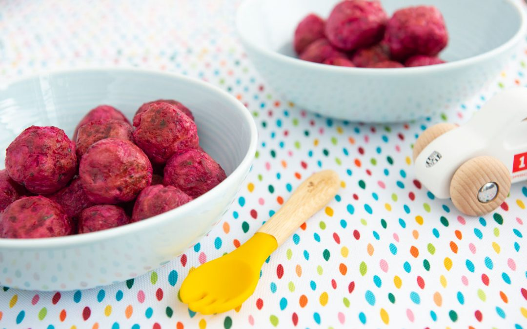 Turkey Beet Meatballs | Kid-Friendly Recipe